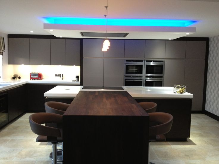 led strip lighting design kitchen led