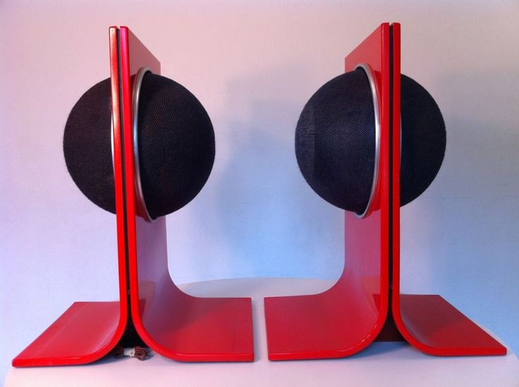 1000 images about speakers on pinterest canon models for Space age design