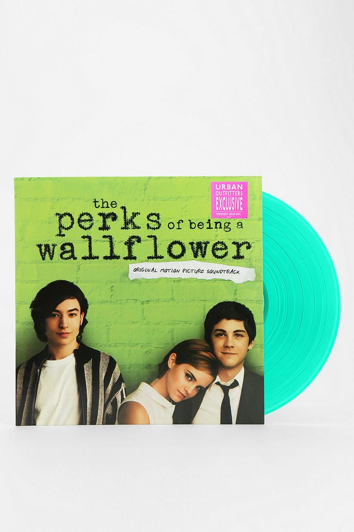 Be it the book, the movie or, as we've just discovered, this amazing bright turquoise LP of the incredible soundtrack, we simply love Perks.