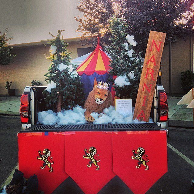 Trunk Halloween Decorating Ideas: 216 Best Images About Trunk Or Treat On Pinterest