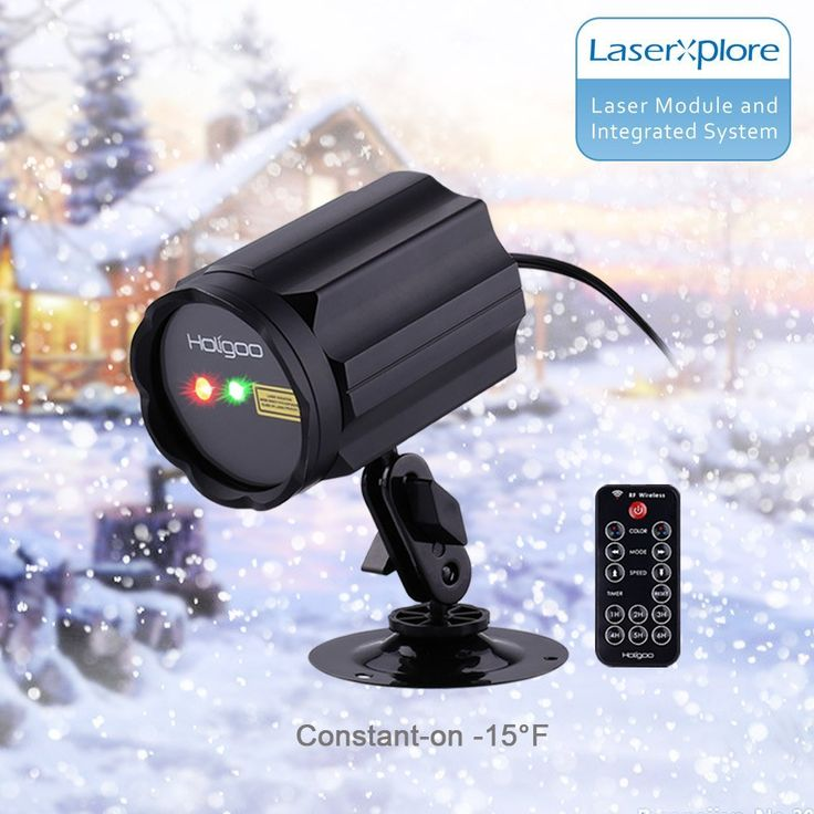 ==> [Free Shipping] Buy Best Red & Green Lotus Wireless Control Laser Christmas Lights Moving Outdoor Star Projector LED Spotlights for Garden House Online with LOWEST Price | 32760482724