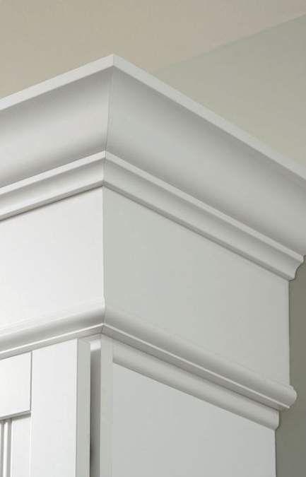 Super kitchen cabinets upper crown moldings 56 Ideas # ...