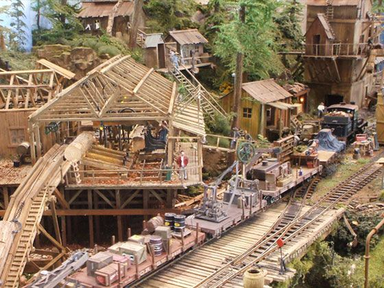 Twin Falls Logging Amp Mining Railroad Model Trains Model