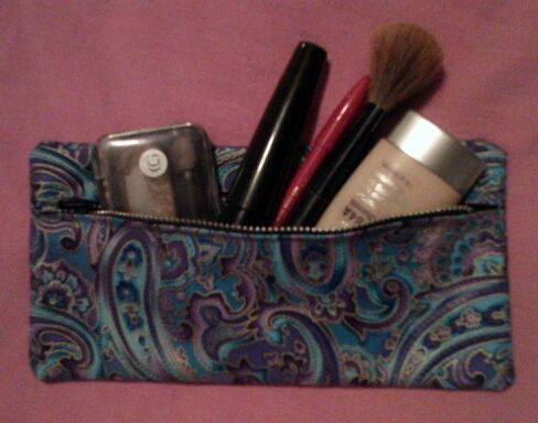 Picture of Makeup Bag with zipper