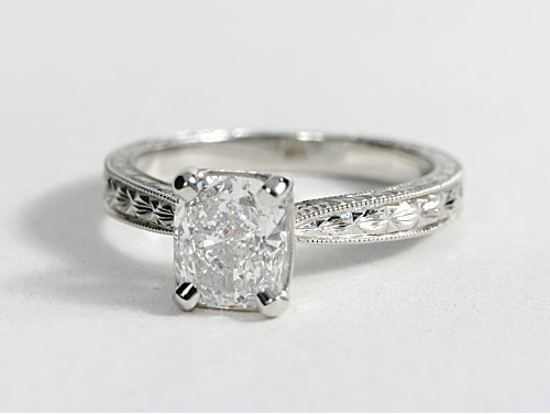 If it was just a silver band with the jewel centered that would be so cute!