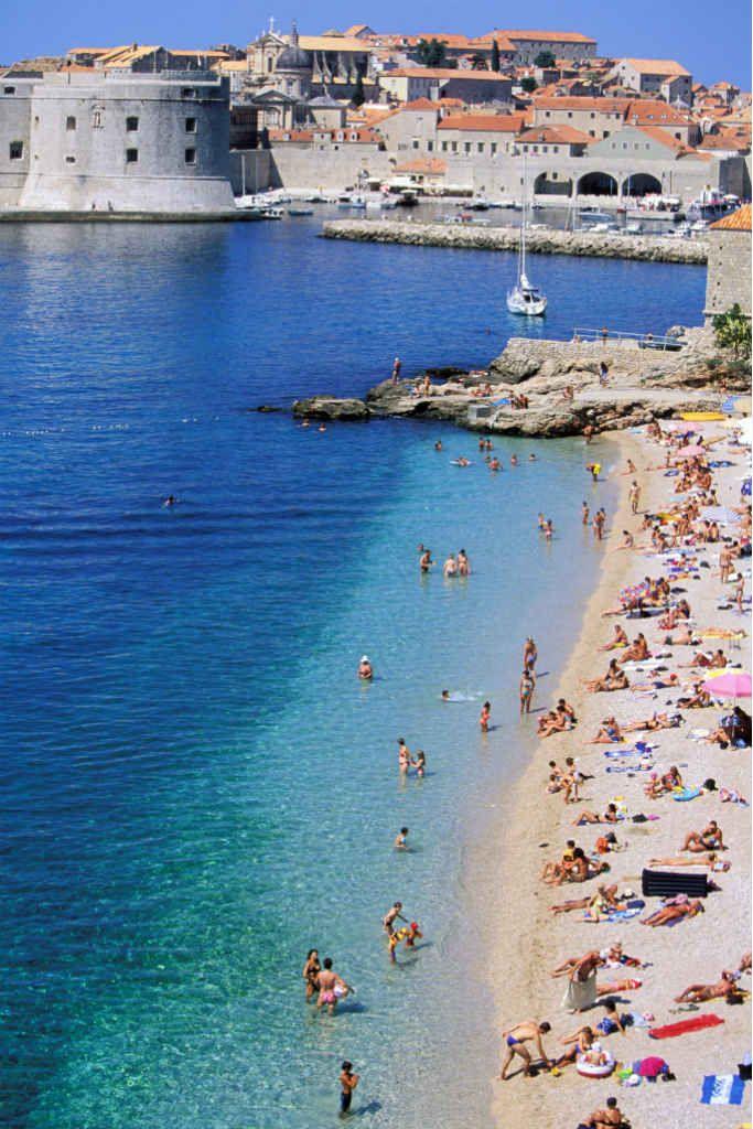 Las 30 playas más VIP del planeta  17. Dubrovnik (Croacia)   GLAMOUR