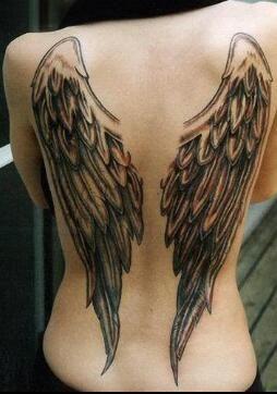 Gave engel vleugels