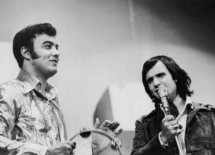 Erasmo Carlos e Roberto Carlos – 1967. (J. Ferreira da Silva)