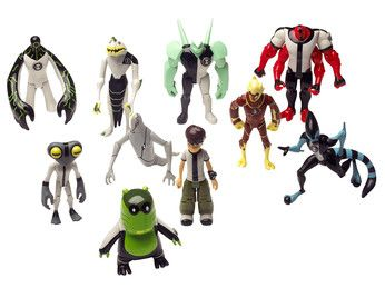 Ben 10 Figure Pack Awesome Which Is