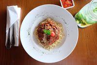 Шпаргалка для домохозяйки: Аппетитный мясной соус с грибами для спагетти