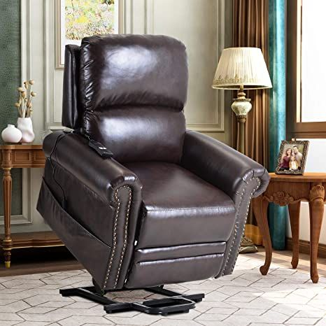 Lift Chairs for Elderly - Lift Chairs Recliners Sofa Reclining Chair Sofa Electric Recliner Chairs with Remote Control Soft PU Lounge Recliner Chairs, Glider Chair, Sofa Chair, Upholstered Chairs, Recliners, Sectional Sofa, Couch Furniture, Living Room Furniture, Armless Accent Chair