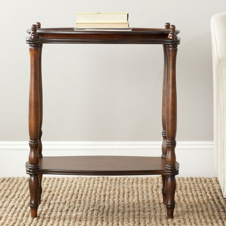 Safavieh Todd Dark Brown Side Table By