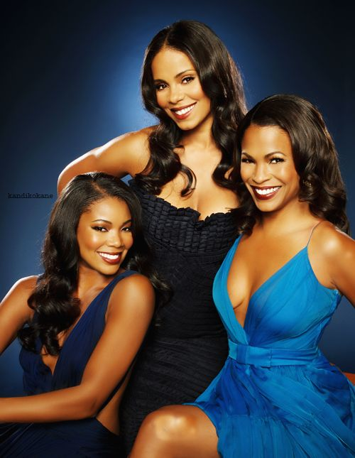 Hollywood Actresses Gabielle Union, Sanaa Lathan, and Nia Long.