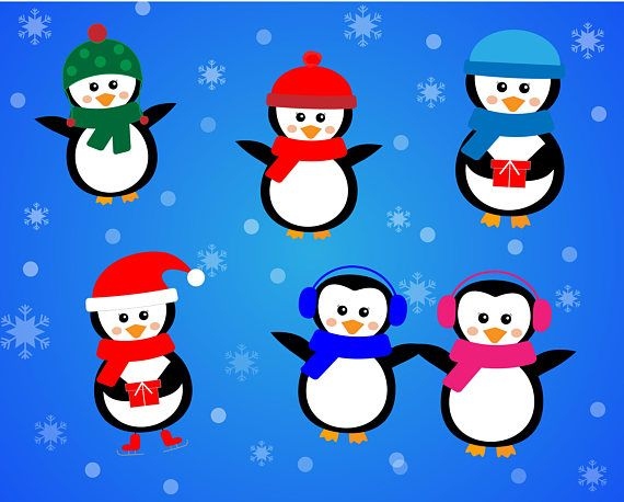 Christmas clipart❄ https://www.etsy.com/listing/563966672/winter-svg-merry-christmas-svg-holiday