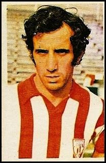 Irureta. Athletic Club de Bilbao. Cromos Ruiz Romero. Temporada 1976-77.