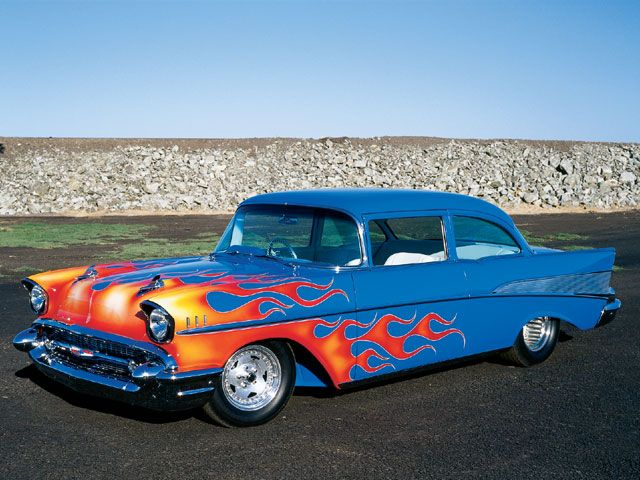 1957 Chevy Front View Photo 1