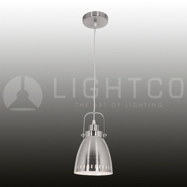 Pendant Shade With Mock Handle On Cord  Satin NickelColour: 122151Code: Price R398.00