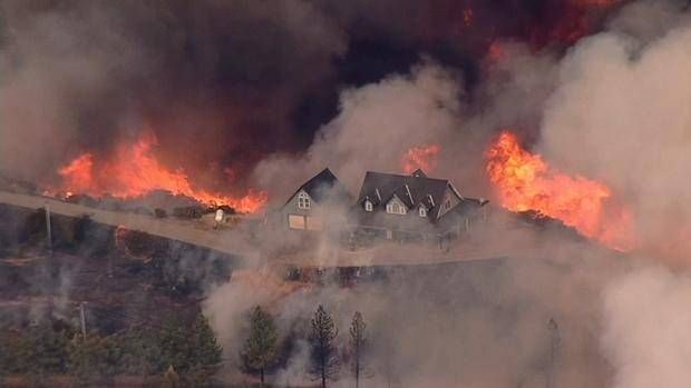 550 Acre Fire in Santa Cruz Mountains Prompts Evacuations,550 Acre Fire,Santa Cruz Mountains,Threatens 300 Structures,Mount Madonna,Santa Clara County
