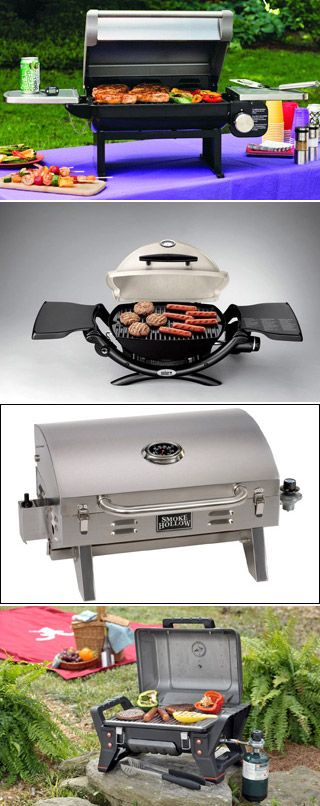 Portable grills are almost a necessity for RV living. Here is a look at four of them.