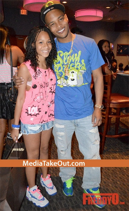 Rapper TI's Youngest Daughter DEYJAH Cerebrates Her 12th Birthday . . . And Her PROUD DAD . . . Makes Sure She Has The BEST OF EVERYTHING!!! - MediaTakeOut.com™ 2013