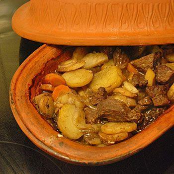 Recept grytstek i lergryta