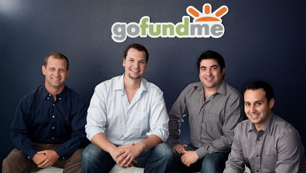 Charity Fundraising Ideas: Crowdfunding - The Go Fund Me founding team! Click on the image to find out more...
