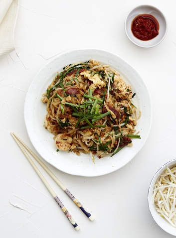 Char kwai teow stir-fry. This popular street food from Singapore and Malaysia is a cinch to make.