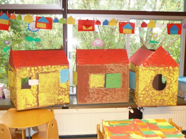 17 beste afbeeldingen over thema wonen op pinterest kartonnen huizen kartonnen doos huizen en - Doos huis wereld ...