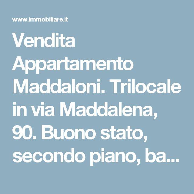 Vendita Appartamento Maddaloni. Trilocale in via Maddalena, 90. Buono stato, secondo piano, balcone, riscaldamento autonomo, rif. 60532676