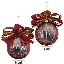 """Downton Abbey ® 4.72"""" Glass Ball Ornament  - shopPBS.org"""