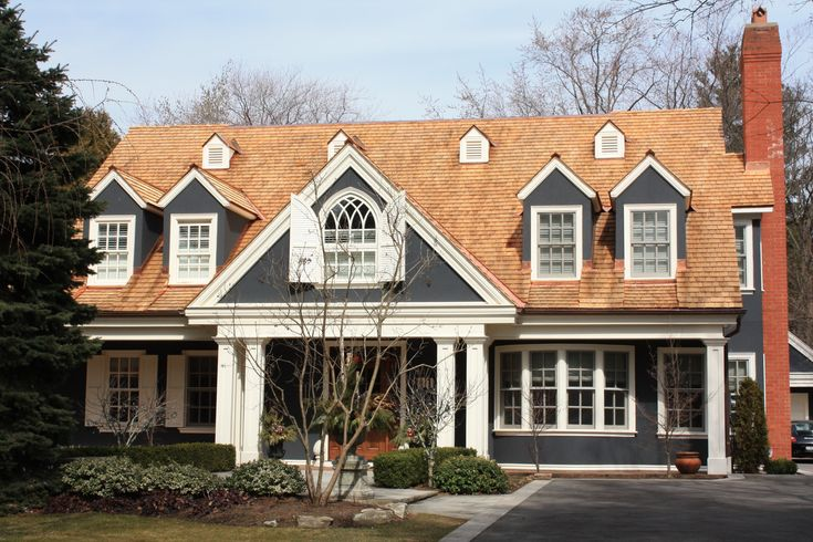 Copper Roof And Dark Colors House Pinterest
