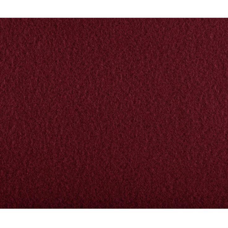 Garnet Red Soft Warm Fleece Electric Heated Throw Blanket