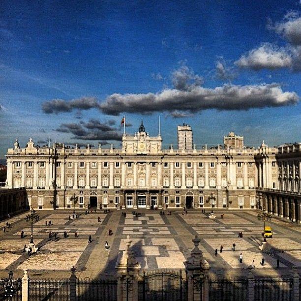 Palacio Real de Madrid in Madrid, Madrid