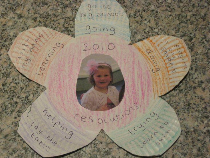 children's new year's resolutions