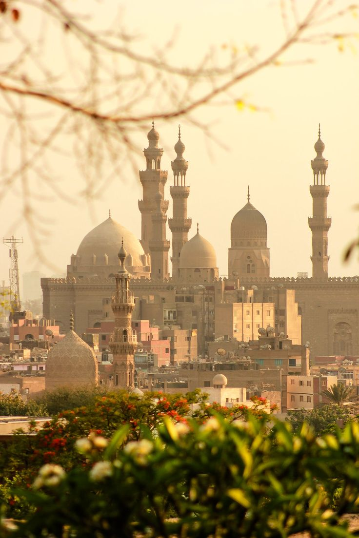 View of Old Cairo from al-Azhar Park