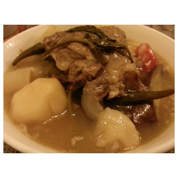 my favorite sinigang