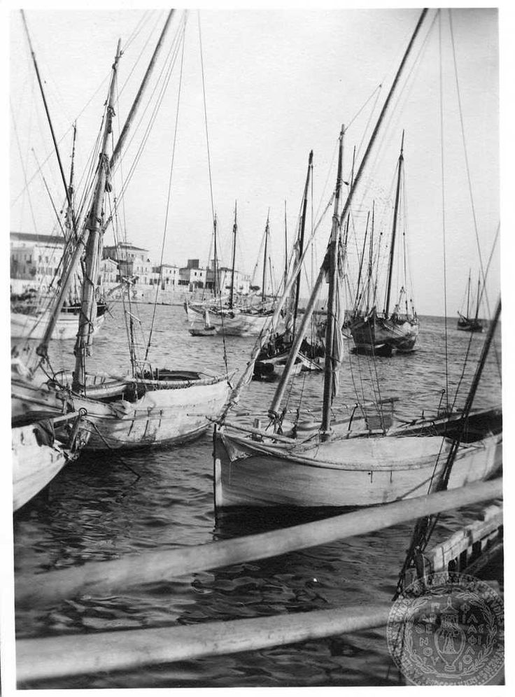 Piraeus. [Boats].Dorothy Burr Thompson.
