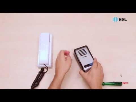 HDL - Instalação do Porteiro Eletrônico F8-S - YouTube