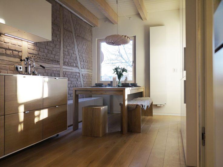 32 best Interieur Küchen mit Holz images on Pinterest Kitchen - küchen regale holz