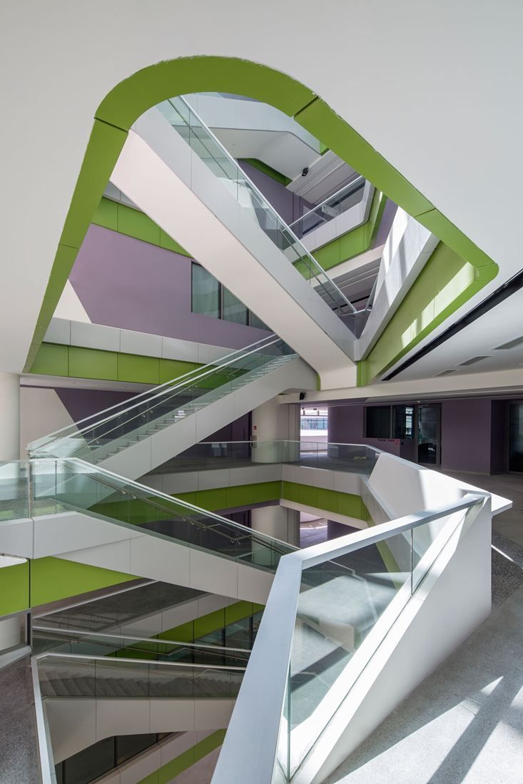 SUTD - Singapore University Of Technology #architecture #interiordesign #staircases