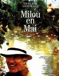"""413. """"Milou en mai"""" de Louis Malle avec Michel.Piccoli, Miou-Miou, Dominique Blanc, Michel Duchaussoy, Bruno Carrette. 1990"""