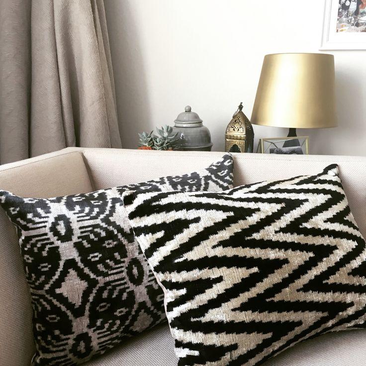 Decorative Ikat Cushion