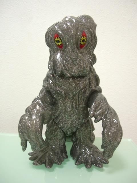 Marmit silver glitter vinyl Hedorah (Godzilla vs the Smog Monster)