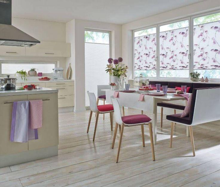 die besten 25 plissee gardinen ideen auf pinterest k che gardinen plissee fenster plissee. Black Bedroom Furniture Sets. Home Design Ideas