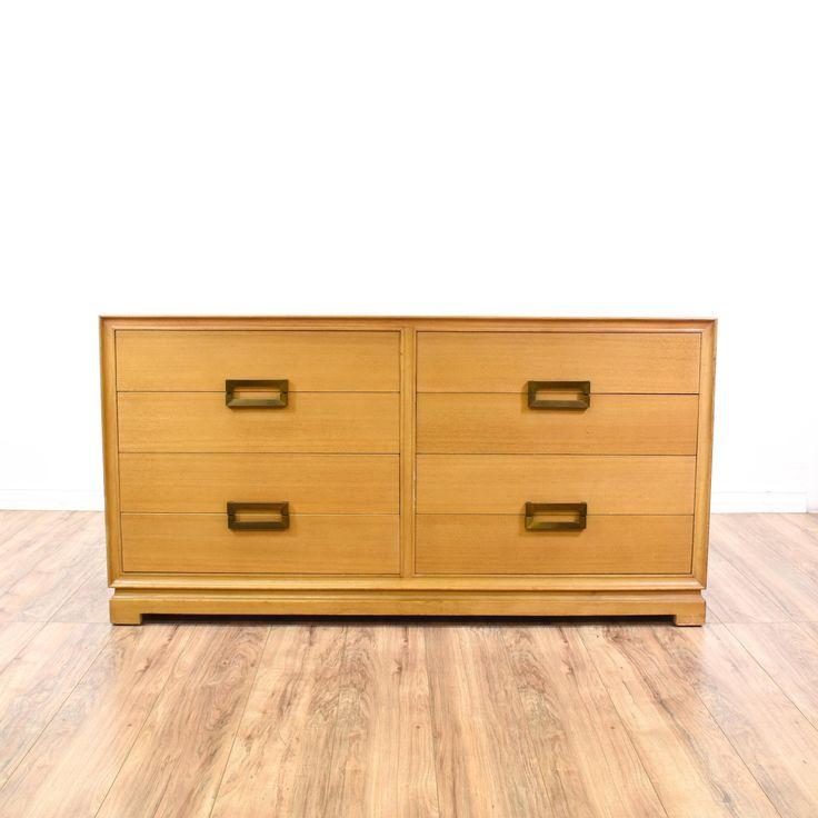 "Modern Style Dresser: ""Red Lion Table"" Mid Century Modern Dresser"