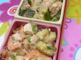 Recette Salade chinoise aux crevettes