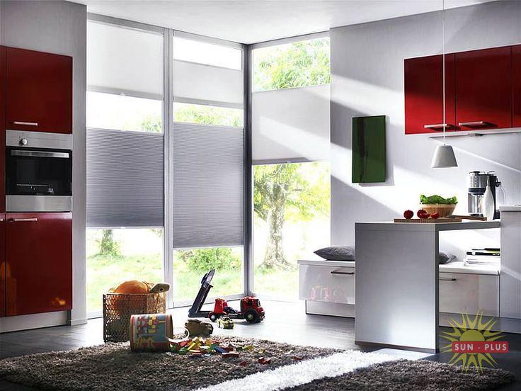 Plisy są estetyczną i funkcjonalną dekoracją okien w każdym mieszkaniu.
