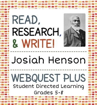 Included in this resource are six research topics for students that are directly or indirectly connected to the historical figure Josiah Henson, an escaped slave who established a settlement for other escaped slaves near Dresden, Upper Canada in the 1840's.