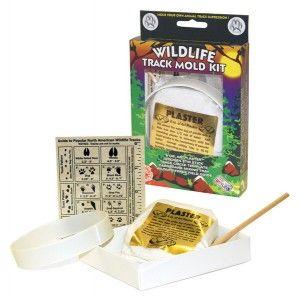 Wildlife Track Mold Kit