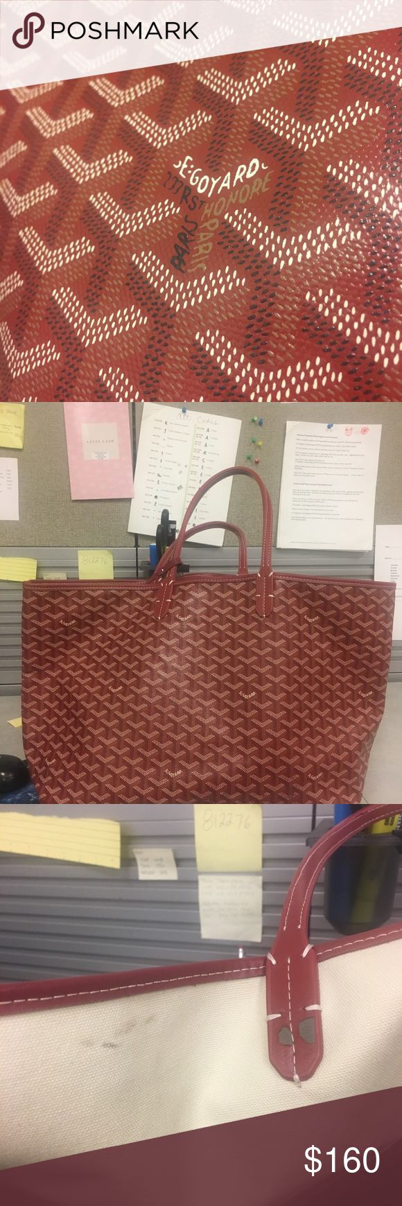Goyard Tote Price reflects. Great condition and carries everything Bags Totes
